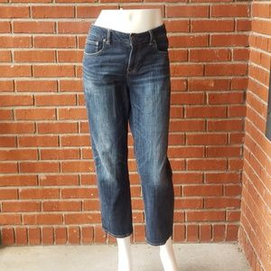 American Eagle Outfitters Boy Fit Cropped Jeans